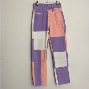 Y2K high rise jeans